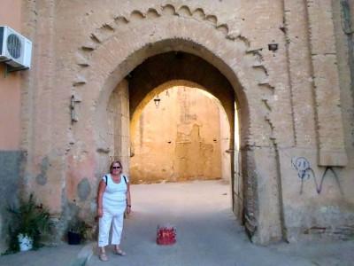 Une des portes de la médina