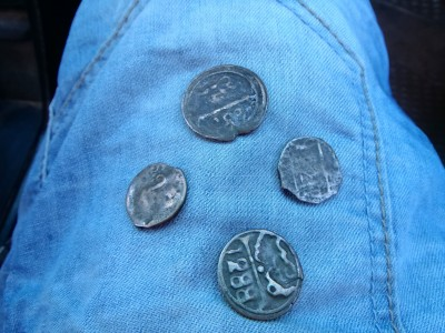 pièces de monnaie juives d'époque