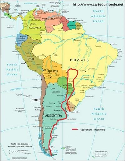 carte-amerique-du-sud-politique