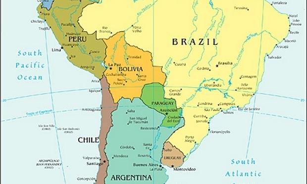 Amérique du sud – notre itinéraire en live
