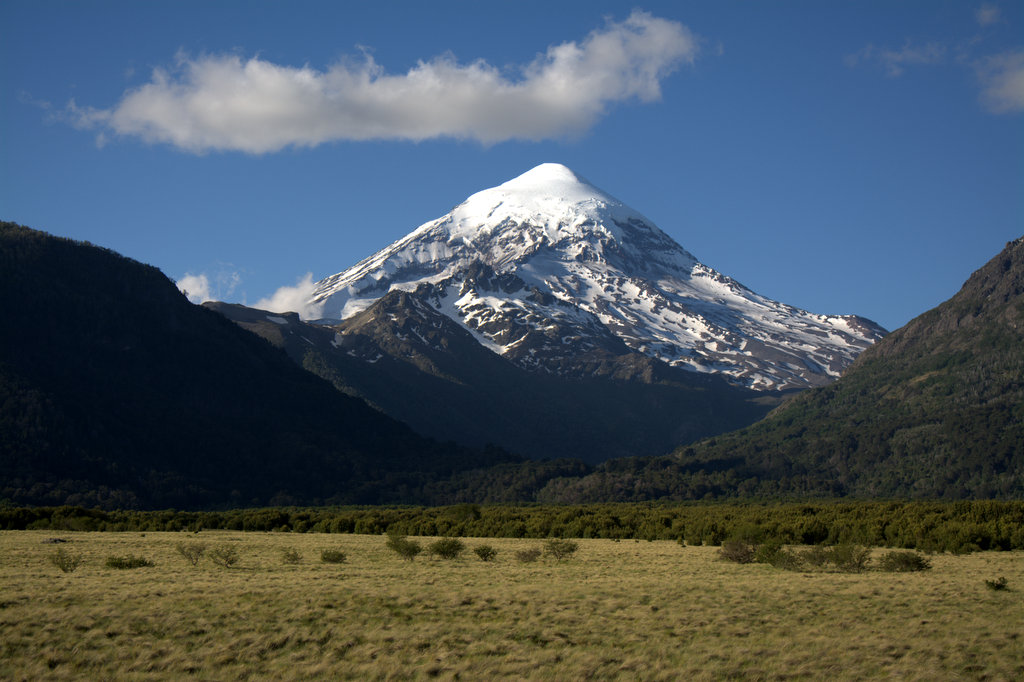 le volcan Lanin 4810m - Argentine