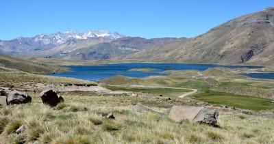 Laguna Varvarco tapia