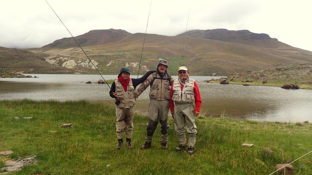 Partie de pêche à la mouche - Argentine