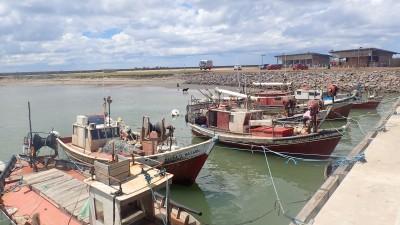 le petit port de pêche de La Paloma