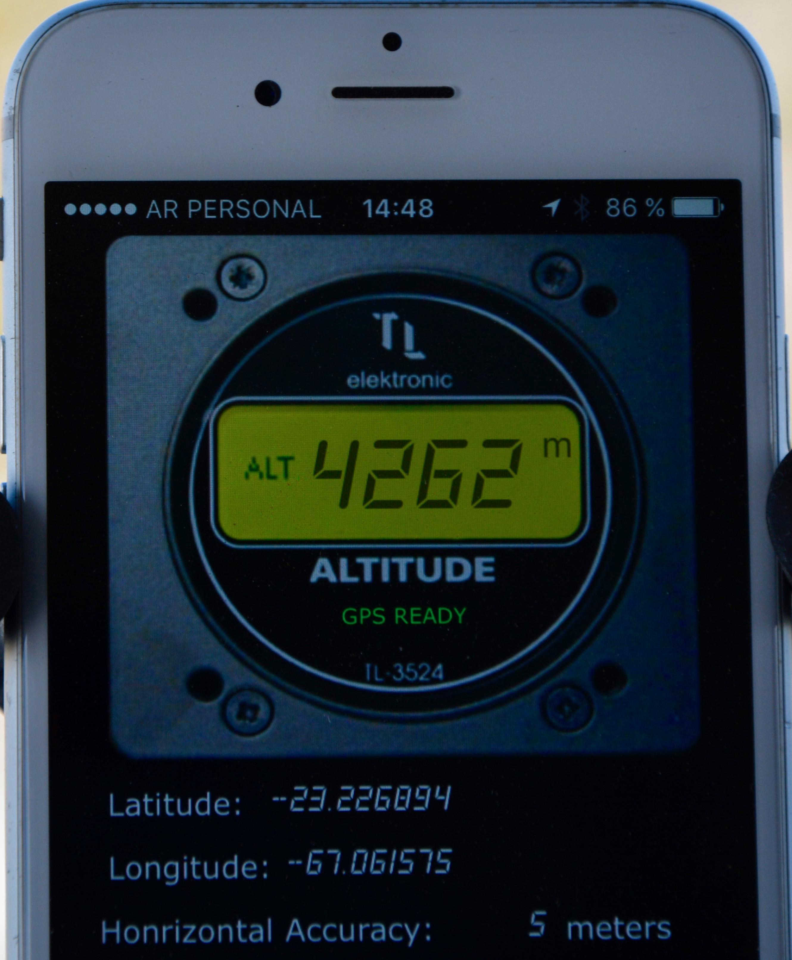 Notre 1er col à plus de 4200m