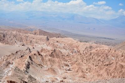Tout en haut, vue splendide sur la vallée