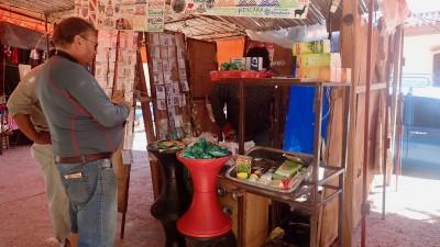 achats des feuilles de coca sur le marché