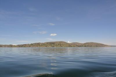 Multitude d'îles sur le lac