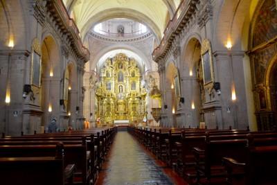 Intérieur de l'église de la Compagnie de Jésus