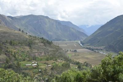 route de la vallée sacrée des Incas
