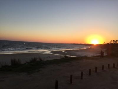 coucher de soleil a Atlantide