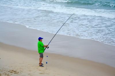 et oui c'est Gérard qui pêche...