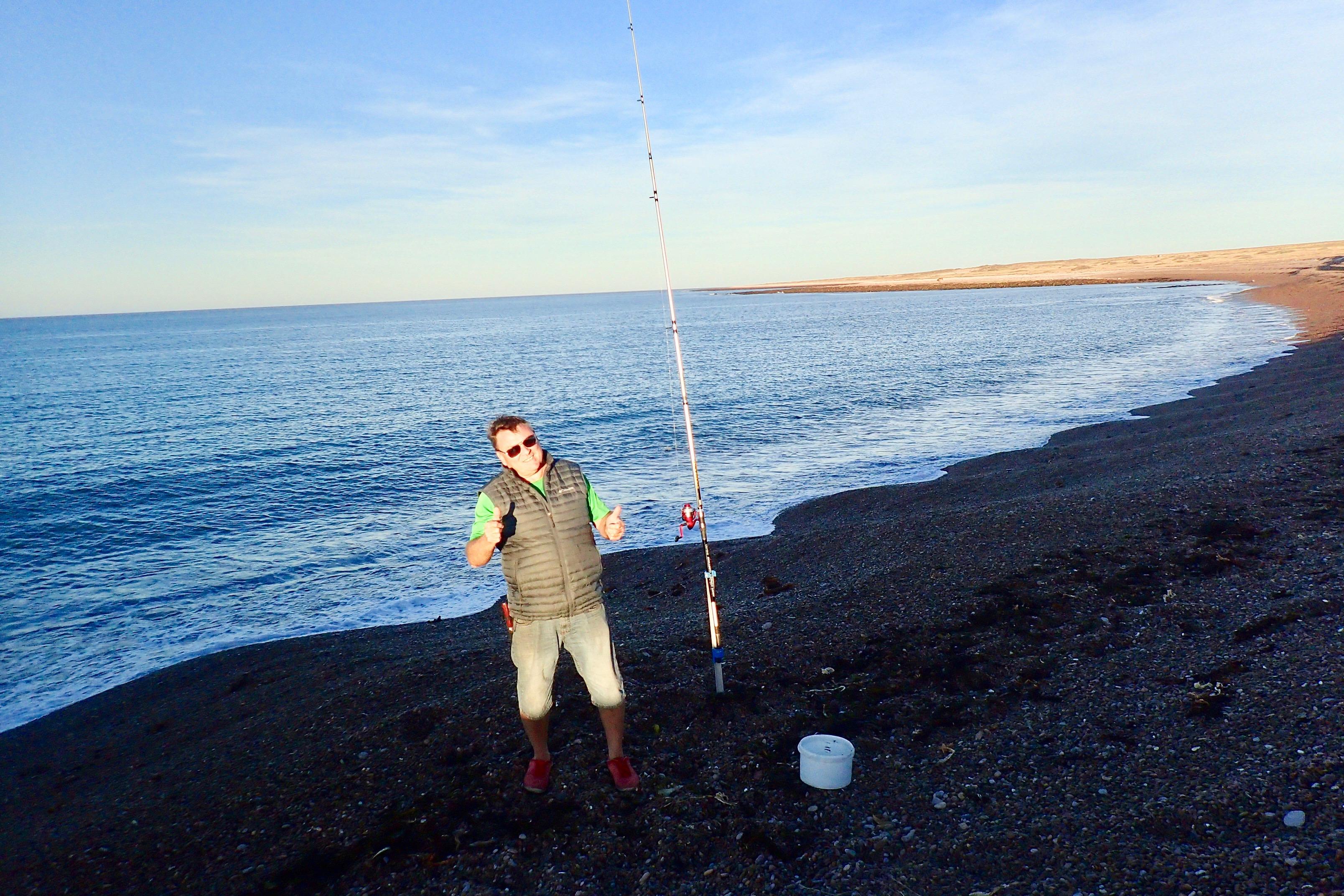 pour l'instant, la pêche n'a pas donné grand chose mais...