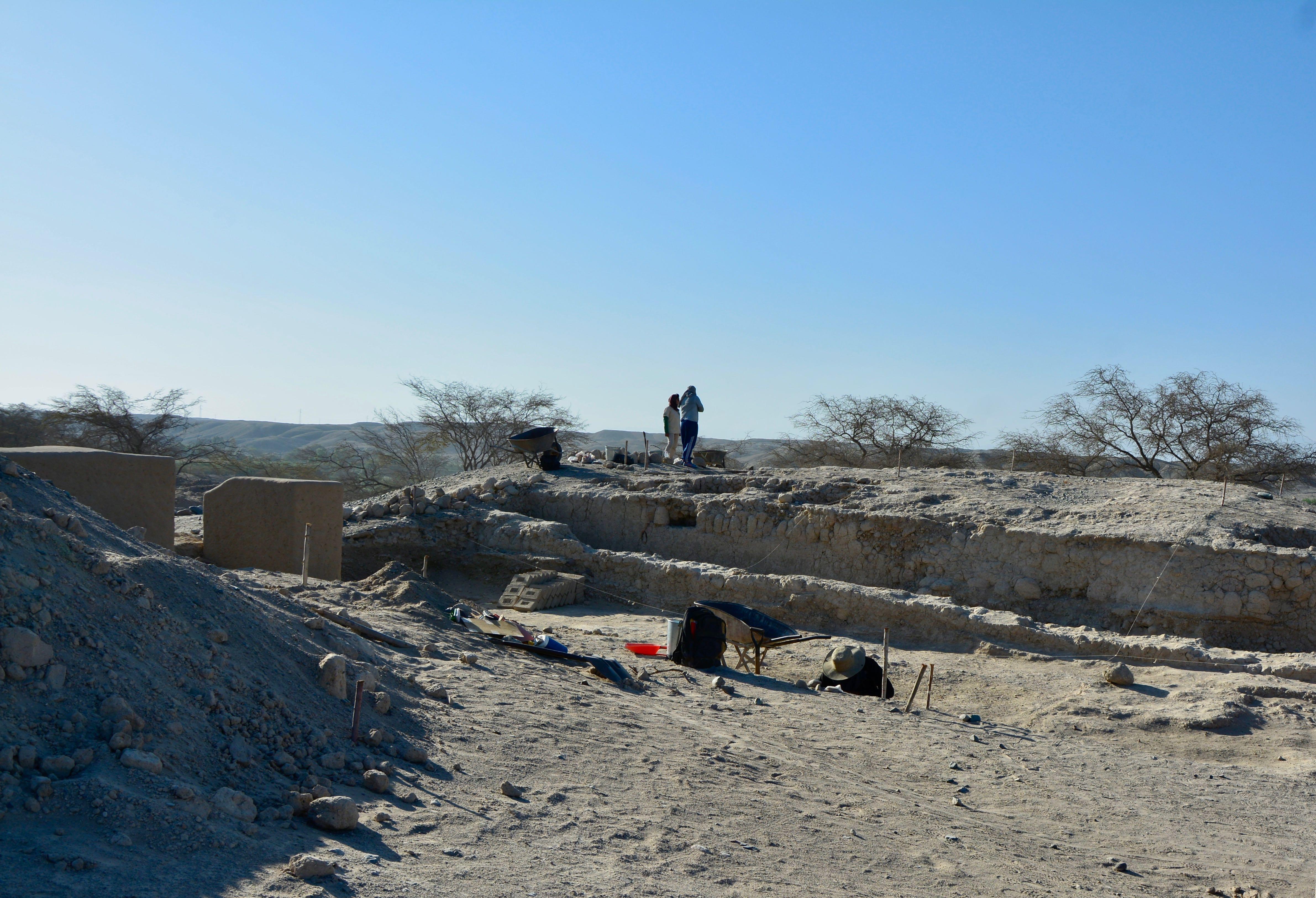 Des fouilles sont encore en cours