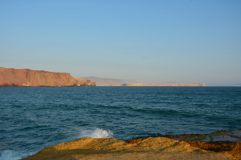 Notre bivouac : la playa roja