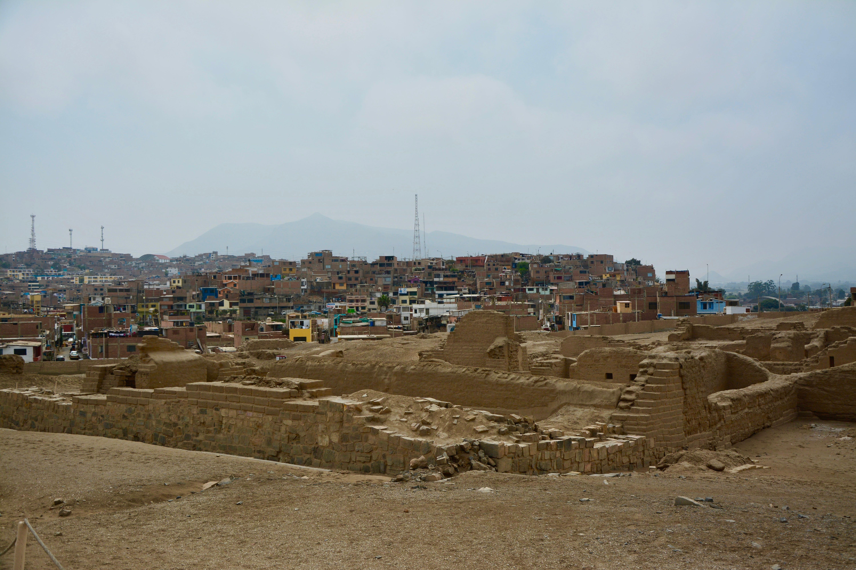 Ou s'arrête les ruines Inca et ou commencent celles du 20èmeS