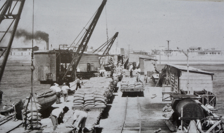photo de la jetée milieu XXème S