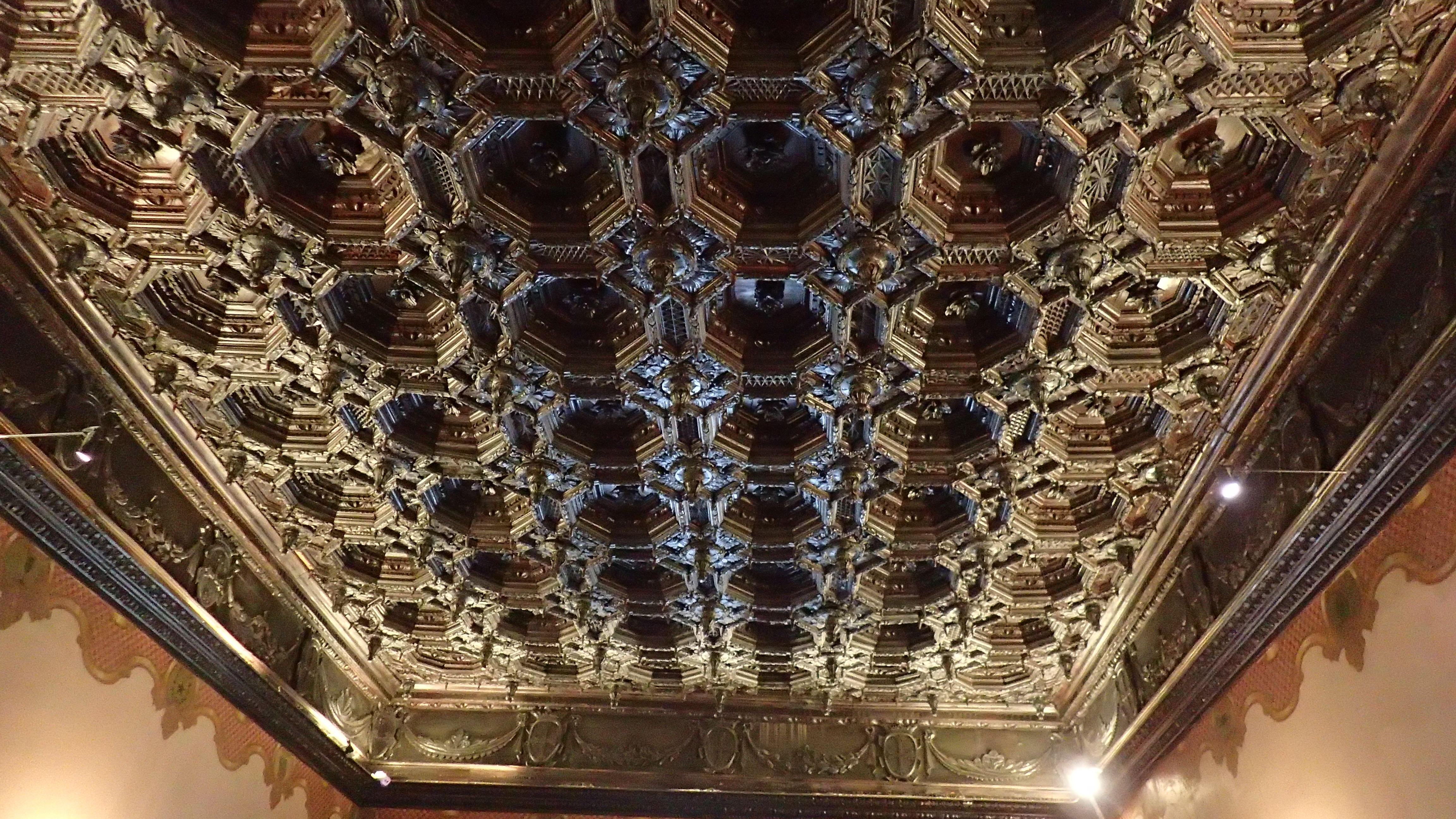 magnifique plafond