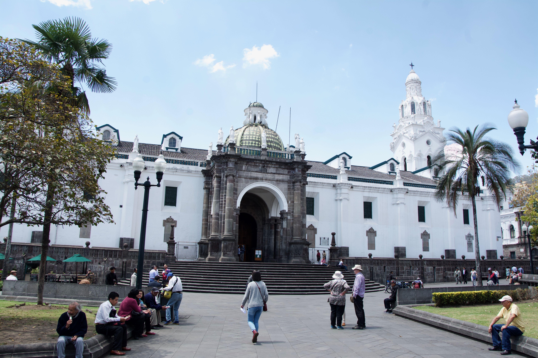 La cathédrale et le palais épiscopale
