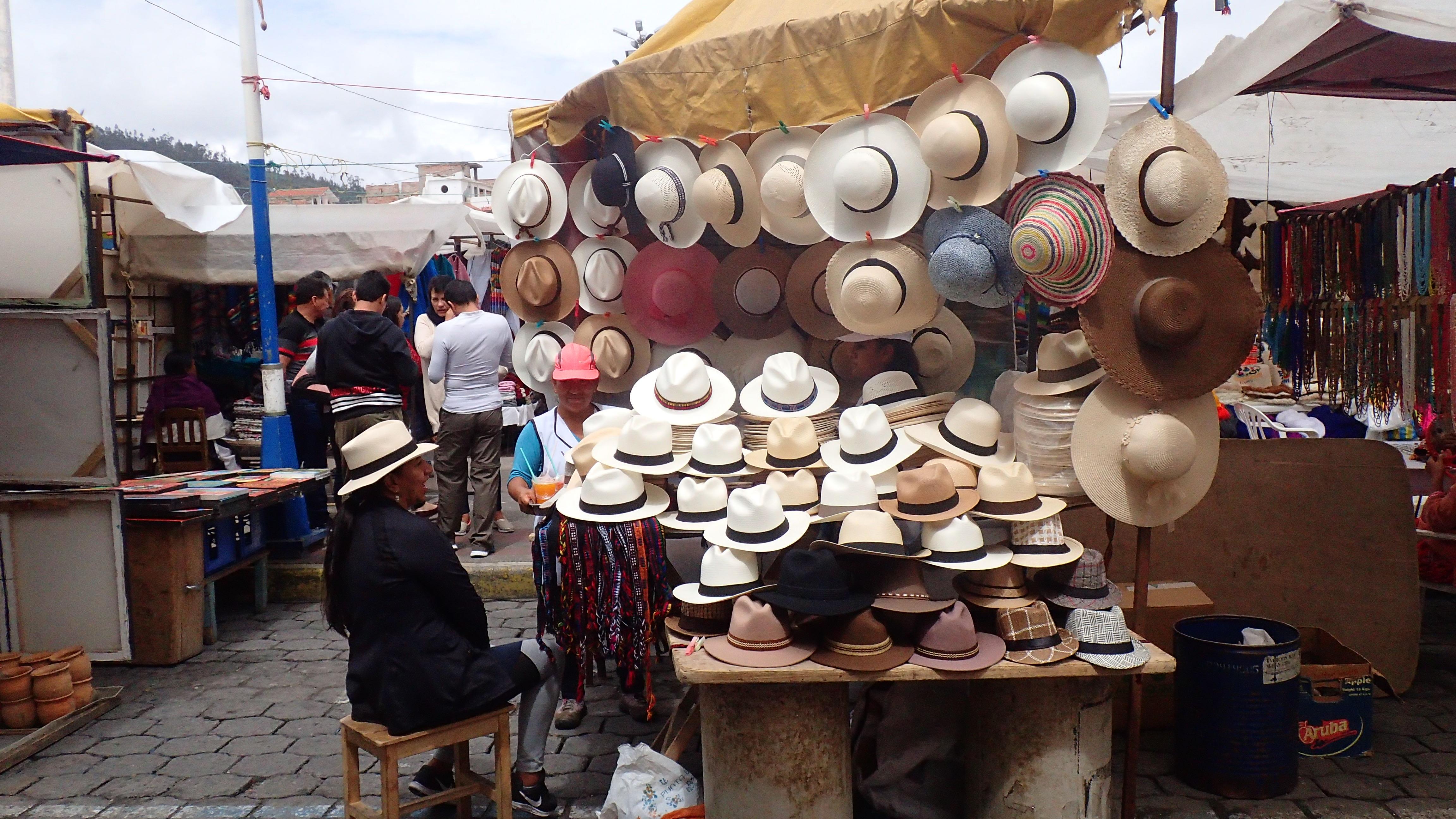 des sombreros..