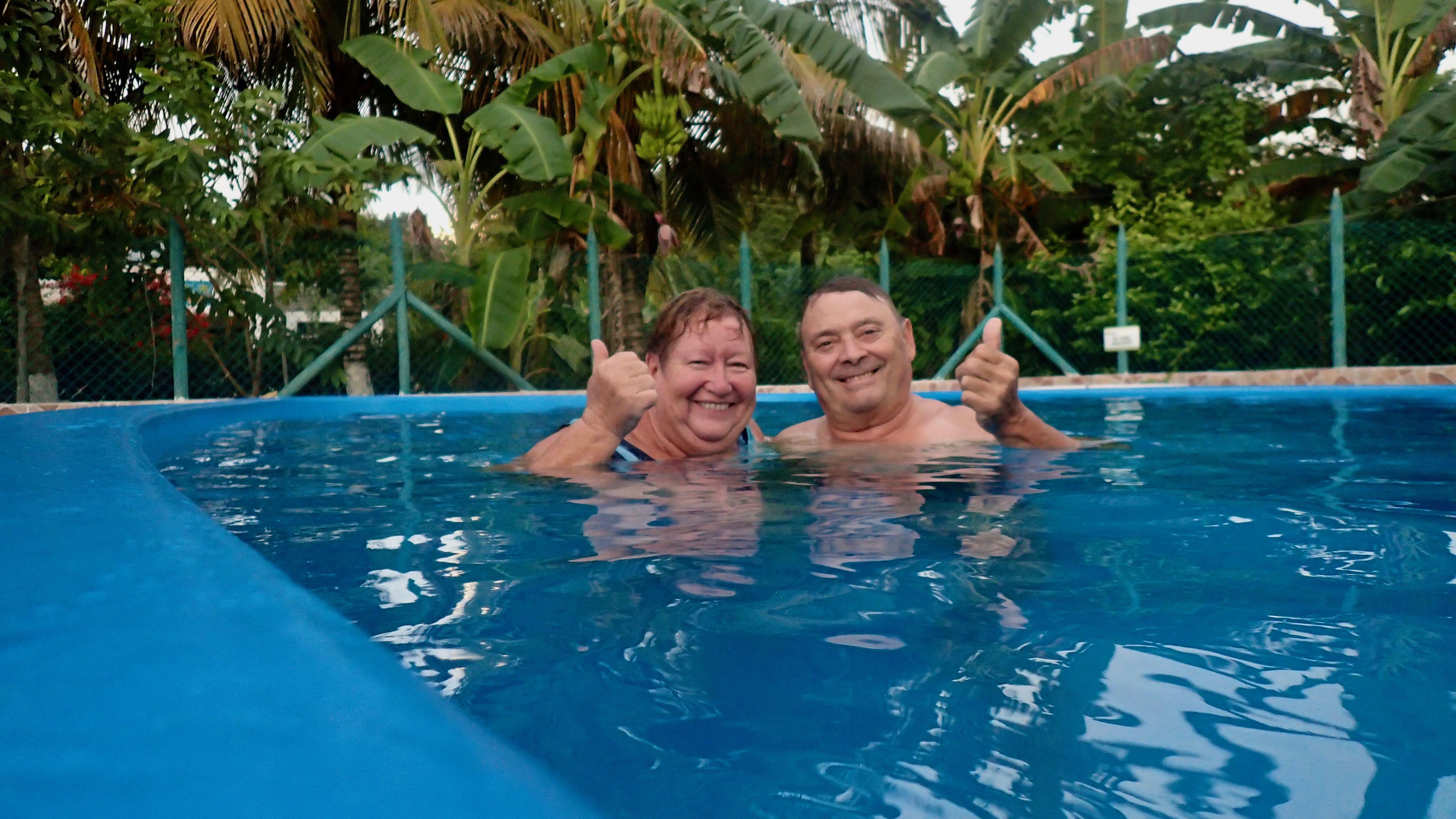 Le graal : une piscine !