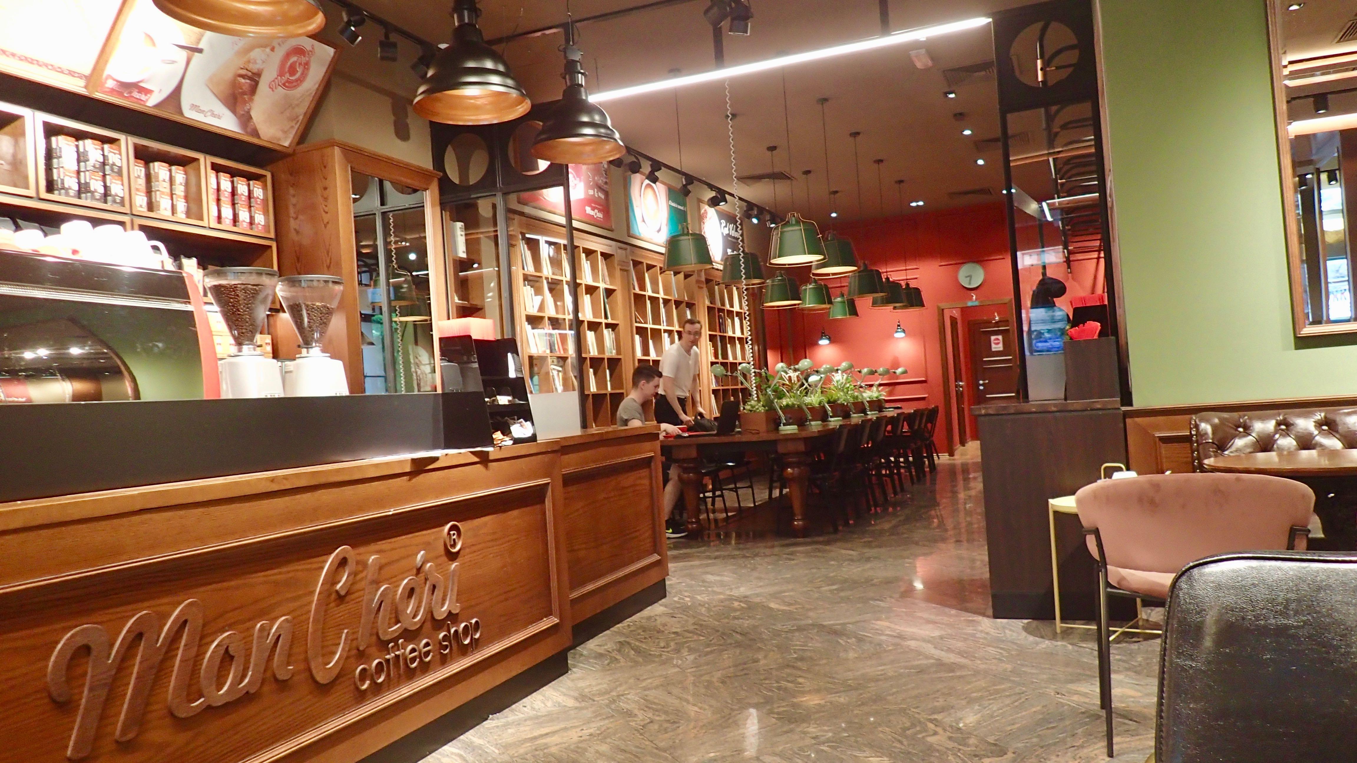 """""""le Cheri"""" café connecté"""
