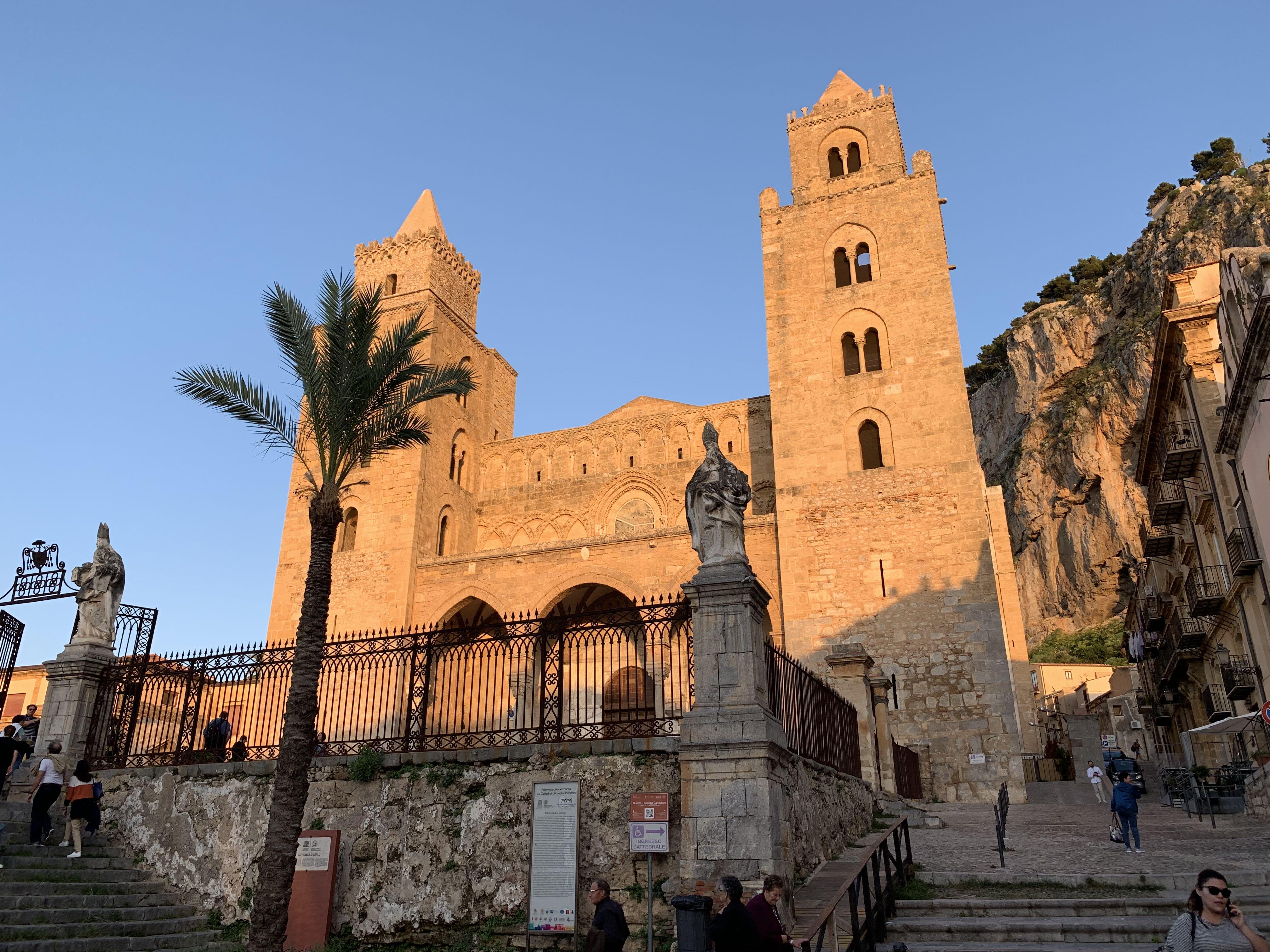 La cathédrale de Cefalu monument classé par l'UNESCO