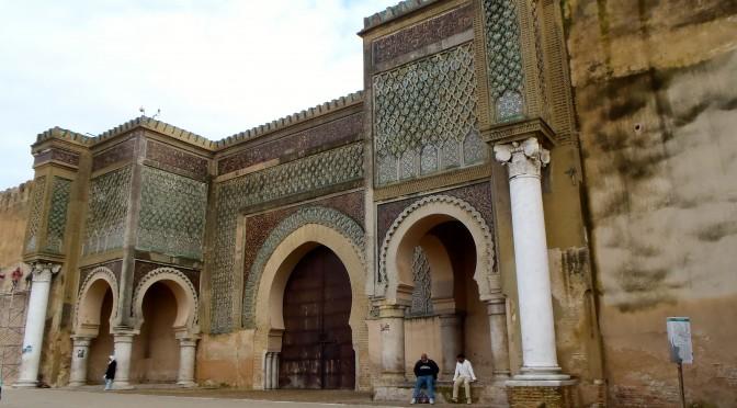 la porte Bab-Mansour